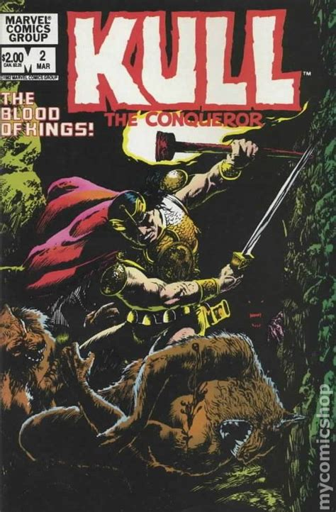 Marvel Comics Kull the Conqueror