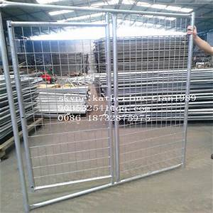 10x10x6 foot classic galvanized outdoor dog kennel large With wire fence dog kennel