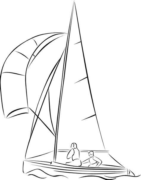 Dinghy Boat Clipart by Sailing Dinghy Clipart I2clipart Royalty Free
