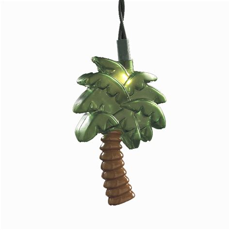 palm tree novelty string lights poolsupplies