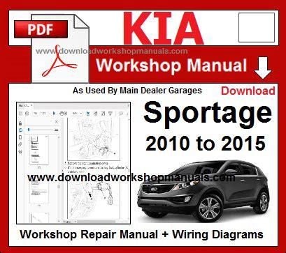 download car manuals pdf free 1998 kia sportage transmission control kia workshop manuals