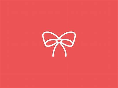 Ribbon Animation Icon Christmas Gifs Dribbble Save