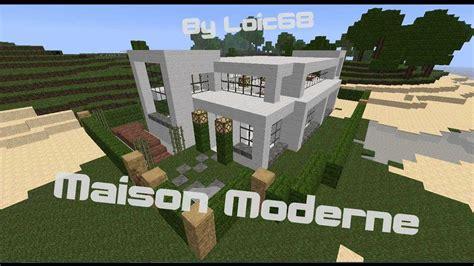 cuisine dans minecraft cuisine minecraft tuto construction maison moderne partie