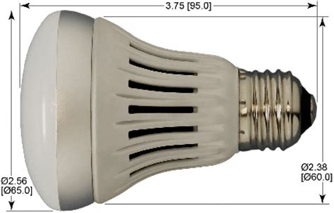led a19 bulb etl listed dimmable 6w replaces 50 to 75