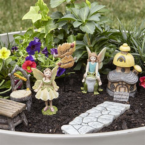 fairy garden kit fairy crossing limited availability