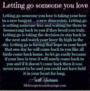 One Quote At A Time Le...Quotes About Letting Go Of Someone You Love Tumblr
