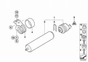 Bmw Genuine Fuel Filter Strainer  Cartridge E90  E91  E92  E93 3 Series 13327793672
