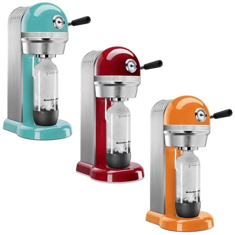 soda machine kitchenaid brings a whole new look to the sodastream Home
