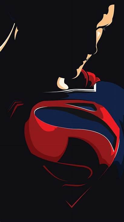 Superman Wallpapers Android Artwork Minimal 5k Desktop