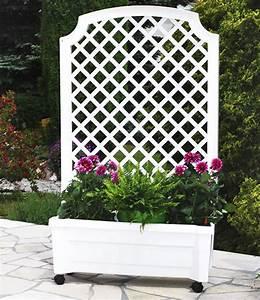 Pflanzkübel Mit Bewässerungssystem : calypso pflanzkasten auf rollen mit bew sserungssystem spalier wei ~ Frokenaadalensverden.com Haus und Dekorationen