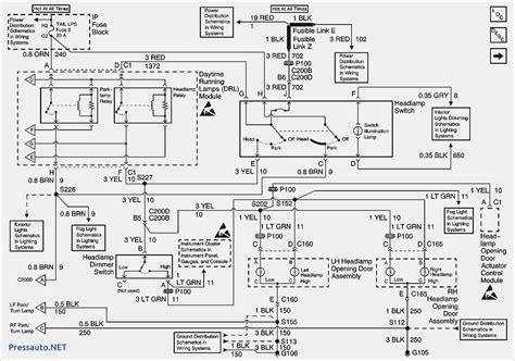 2009 Chevy Silverado Trailer Wiring Diagram by Wiring Diagram For 1997 Chevy Silverado Lights