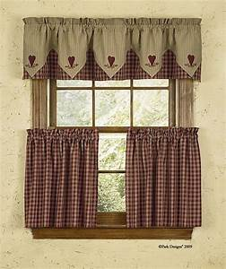Cortina estilo country ideal para la cocina cortinas for Kitchen curtins