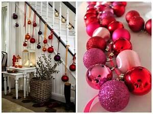 Weihnachtsdeko Basteln Für Den Tisch : 1001 dekoideen weihnachten das treppenhaus weihnachtlich dekorieren ~ Whattoseeinmadrid.com Haus und Dekorationen
