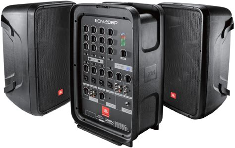 Jbl Professional Eon208p New Portable Pa