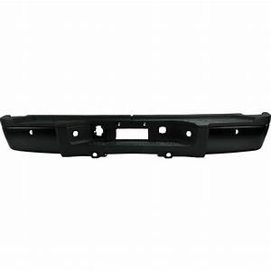 New Step Bumper Assembly Black With Single Rear For