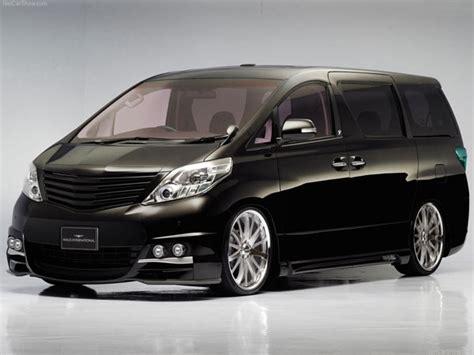 mpv toyota toyota alphard mpv minivan 2002 3ds 3d studio max