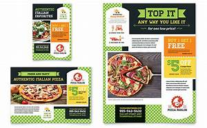 pizza parlor flyer ad template word publisher With pizza sale flyer template