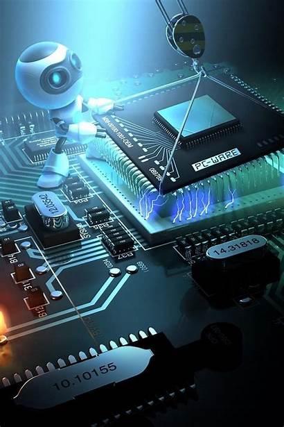 Technology Robot Cpu Open