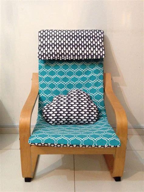 ikea housse de chaise housse pour poang enfants le fameux fauteuil ikea et coussin cumulus idées couture