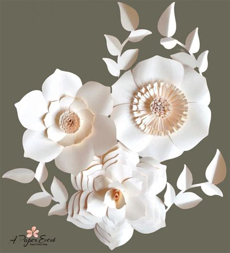 holiday sale paper flower backdrop giant paper flowers