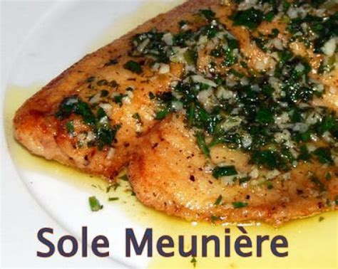 cuisine sole sole meuniere recipe a look at this