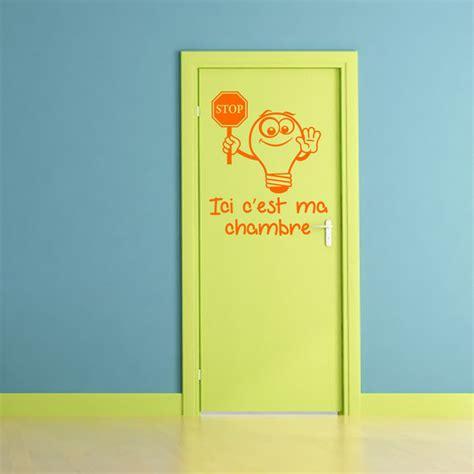 c ma chambre sticker citation ici c 39 est ma chambre stickers citations