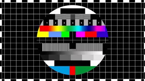 test image no tv signal
