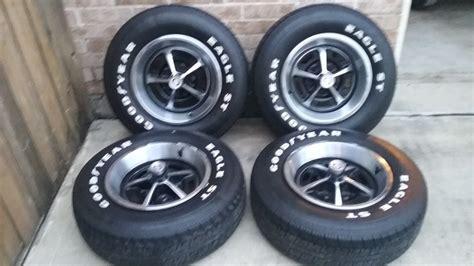 sale  magnum wheels  goodyear eagle st tires