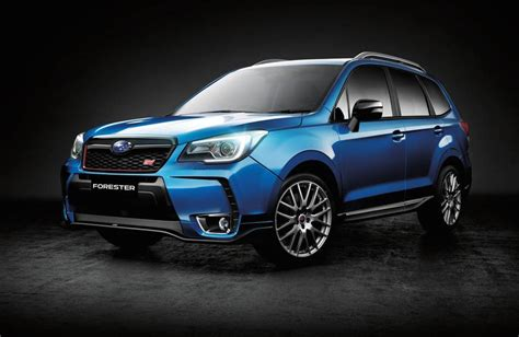 2016 Subaru Forester Ts Sti On Sale In Australia From