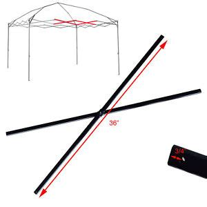 coleman    canopy  center truss black replacement parts frame repair ebay