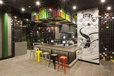 sushizilla restaurant kiosk  vie studio sydney