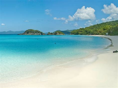 Trunk Bay Beach Information St John Beach Guide