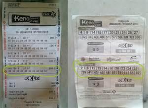 Keno A Vie Resultat by Keno Gagner Au Loto Et 224 Euro Millions