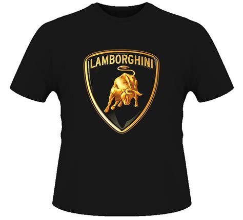 lamborghini car logo t shirt ebay