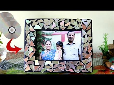 diy cd photo frame ideasbest   waste ideasrecycle