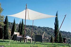 Toile Pour Jardin : toile pour auvent de terrasse toile auvent terrasse sur ~ Teatrodelosmanantiales.com Idées de Décoration