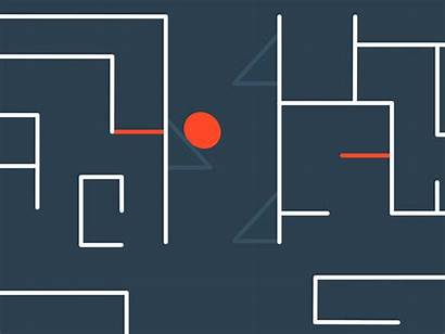 Maze Becomes Dribbble Startup Wandering Snippet Completed