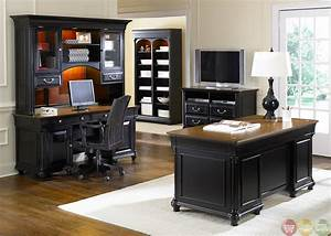 Home office furniture set marceladickcom for Home office home office table