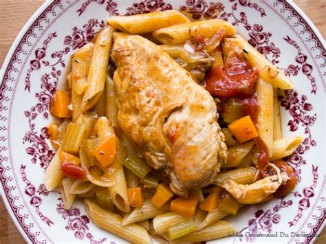 cuisiner c駘eri ragoût de poulet et vin blanc le gourmand du dimanche