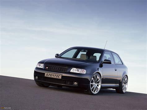 Audi A3 Hd Picture by Sportec Audi A3 8l 2001 2003 Pictures 1600x1200