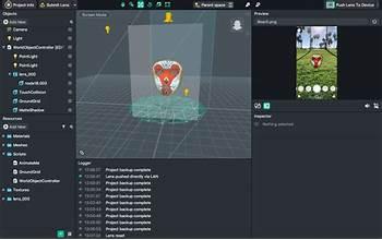 Lens Studio screenshot #6