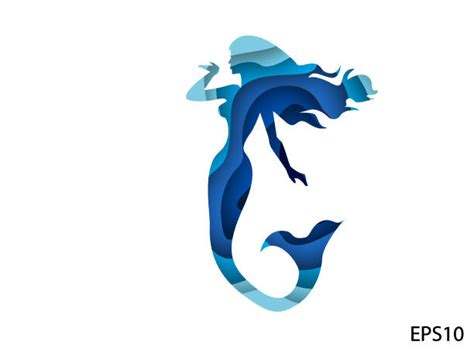 Top 60 Mermaid Silhouette Clip Art, Vector Graphics And