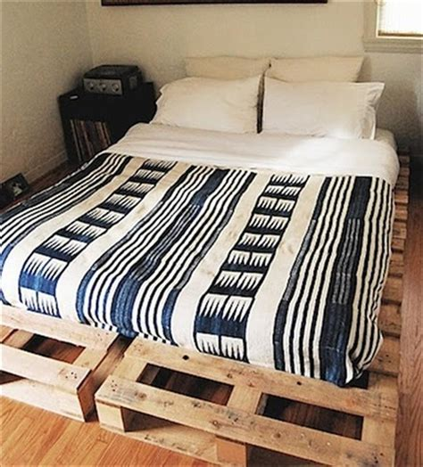 diy ideas easy  install pallet platform beds
