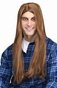 Costume Wigs for Men Long Hair