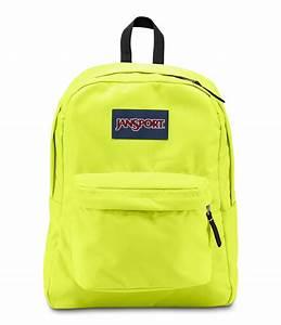 JanSport SuperBreak School Backpack - Lorac Yellow