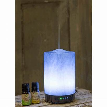 Diffuser Oil Glass Charcoal Ultrasonic Classic Artesian