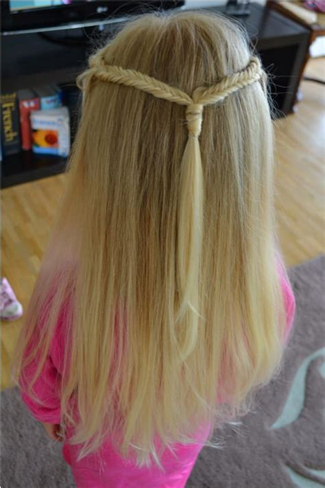 stylish  ponytails