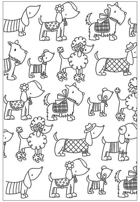 disegni da colorare animali cani cani 31731 cani disegni da colorare per adulti