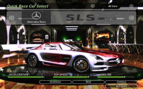 Need For Speed Underground 2 SLS Black Series | NFSCars