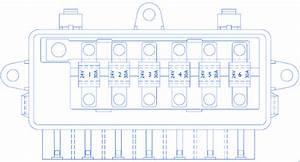 Iveco Stralis Supplementry Fuse Box    Block Circuit